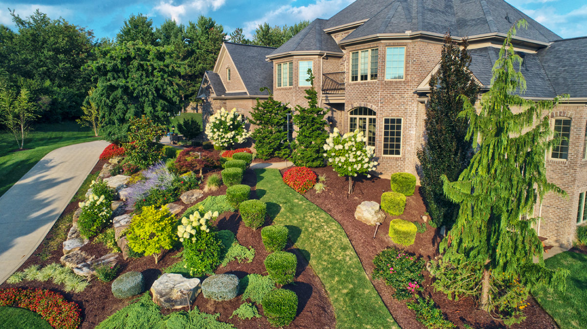 Beautiful Landscape in Fox Chapel designed by Beall's Landscaping