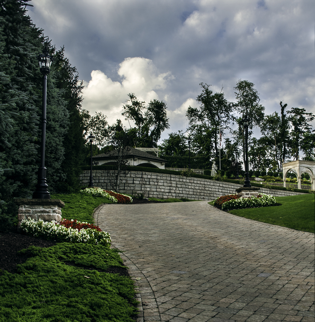 Terraced Tuscan Estate – East Pittsburgh, PA Designed by Beall's Landscaping