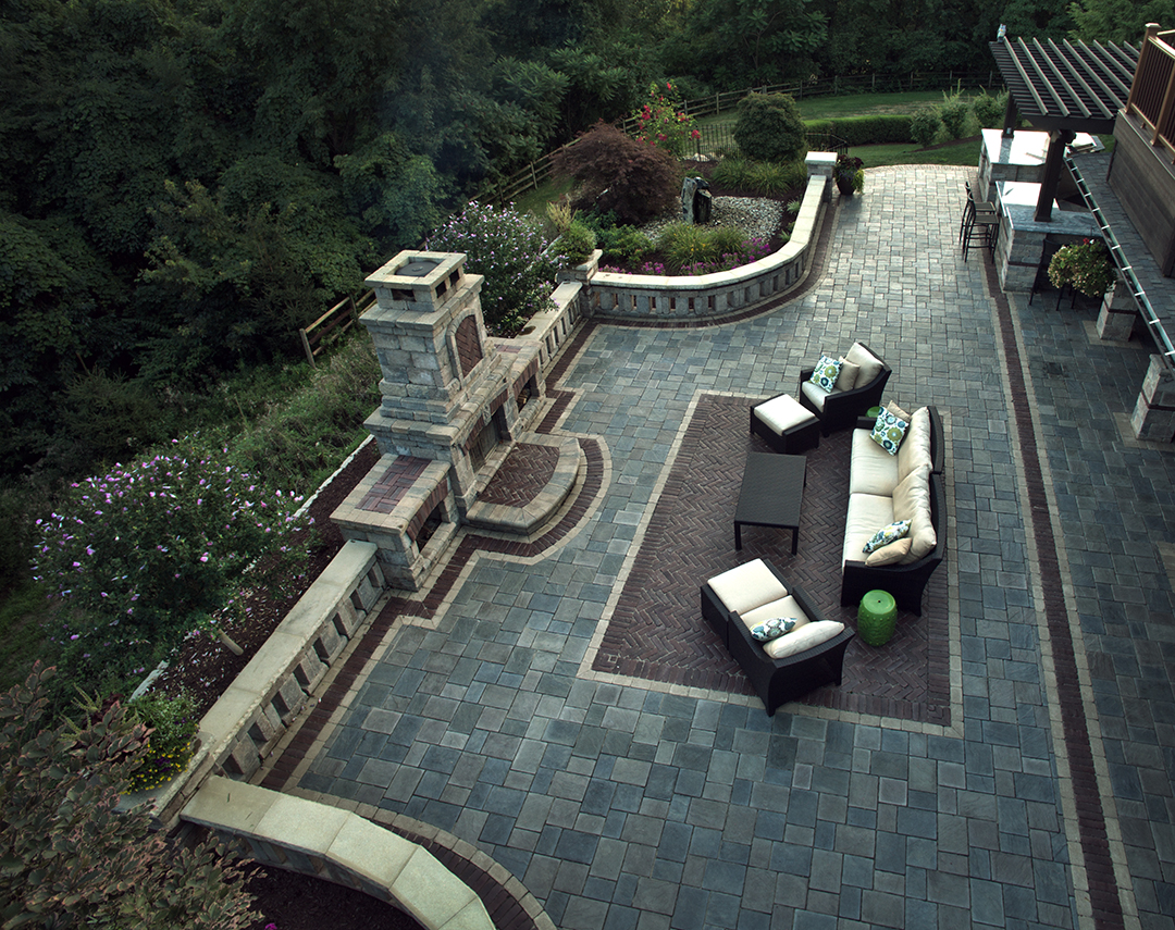 Outdoor Living Renovation Designed by Beall's Landscaping