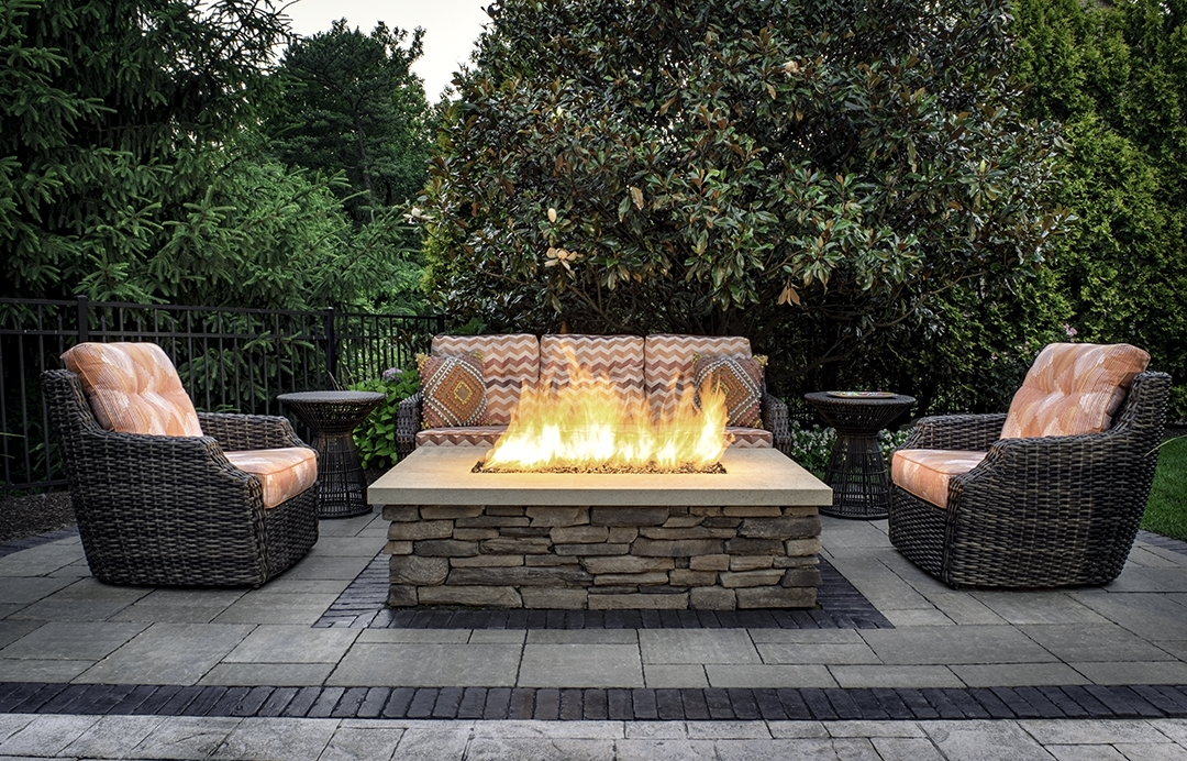 Ultimate Outdoor Entertaining Space designed by Beall's Landscaping